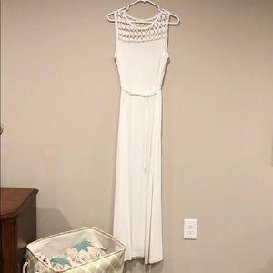 Calvin Klein White Maxi Dress